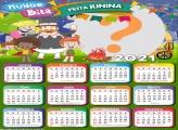 Calendário 2021 Mundo Bita Festa Junina