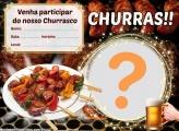 Convite Churrasco para Amigos