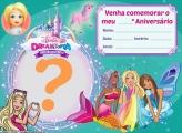 Convite Barbie Dreamtopia