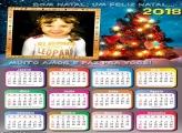 Calendário 2018 Mensagem de Feliz Natal