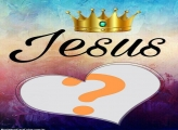 Moldura Jesus Coroa de Rei