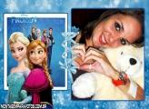 Elsa e Anne Frozen Moldura