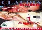 Convite Revista Claudia Bebê
