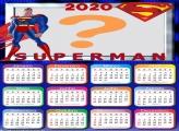 Calendário com foto 2020 SuperMan