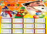 Calendário 2017 Personagens Patati Patatá