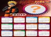 Calendário 2019 Naruto Personagem