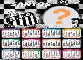 Calendário 2022 Santos Montagem Foto