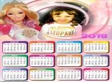 Calendário 2018 Boneca Barbie