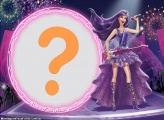 Moldura Barbie Pop Star Musica