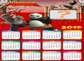 Calendário 2019 Kung Fu Panda