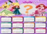 Princesas Glamour com Foto Calendário 2021