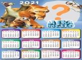 Calendário 2021 A Era do Gelo