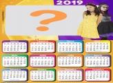 Calendário 2019 Cúmplices de um Resgate