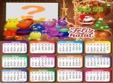 Calendário 2021 Os Backyadigans de Natal Foto Colagem