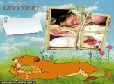 O Rei Leão Simbá e Mamãe