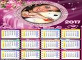 Calendário 2017 Flores