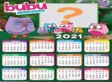 Calendário 2021 Bubu e as Corujinhas
