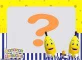 Colagem de Fotos Banana de Pijamas