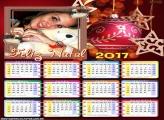 Calendário 2017 Estrela de Natal