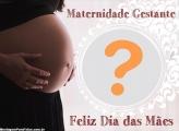 Dia das Mães Grávida Foto Montagem