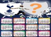 Calendário 2022 Colar Foto Tottenham