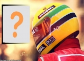 Moldura Capacete Ayrton Senna