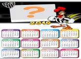 Calendário 2019 Galo do Atlético Mineiro