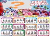 Calendário 2022 Natal My Little Pony Gratuito