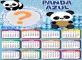 Calendário 2021 Panda Montagem de Fotos On Line