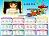 Calendário 2018 Papagaio Carioca Carnaval