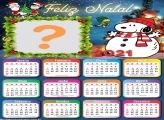Calendário 2021 Foto Online de Feliz Natal