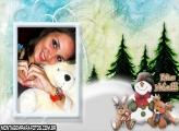 Boneco de Neve e Renas